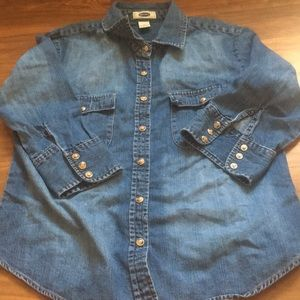 Old Navy Jean shirt